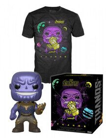 Набор Фигурка+Футболка Funko POP and Tee: Infinity War: Thanos (M) 33455