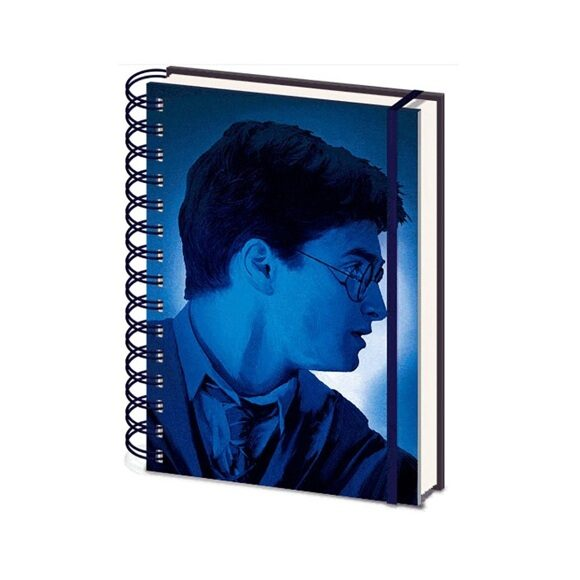 Записная книжка Harry Potter (Magic Portrait) 3D Cover A5 Wiro SR72499