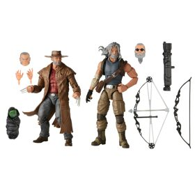 Фигурки Marvel Legends Marvel's Hawkeye and Marvel's Logan 15см E9296