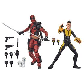 Фигурки Marvel Legends Deadpool and Negasonic Teenage Warhead 15см E9288
