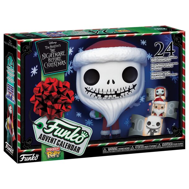 Фигурка Funko Vinyl Figure: Advent Calendar: The Nightmare Before Christmas (Pkt POP) 49668