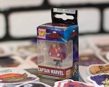 Брелок Funko Pocket POP! Keychain: Captain Marvel: Captain Marvel