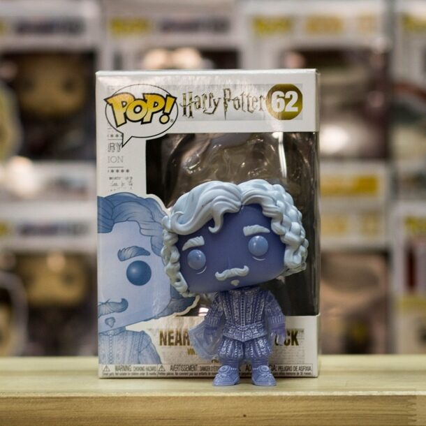 Фигурка POP - Harry Potter - Headless Nick (blue translucent) (62)